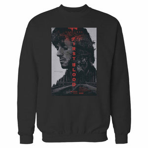 Rambo First Blood Sylvester Stallone Sweatshirt