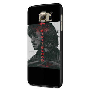 Rambo First Blood Sylvester Stallone Samsung Galaxy S6 S6 Edge Plus/ S7 S7 Edge / S8 S8 Plus / S9 S9 plus 3D Case