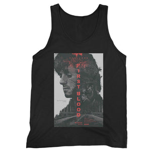 Rambo First Blood Sylvester Stallone Man's Tank Top