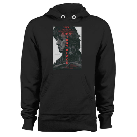 Rambo First Blood Sylvester Stallone Unisex Hoodie