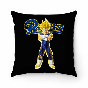 Rams Super Saiyan Vegeta Pillow Case Cover