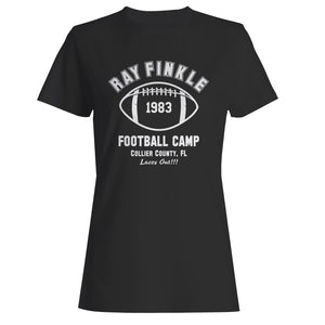 Ray Finkle Football Camp Laces Out Woman's T-Shirt