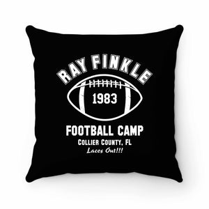 Ray Finkle Football Camp Laces Out Pillow Case Cover