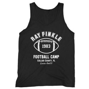 Ray Finkle Football Camp Laces Out Man's Tank Top