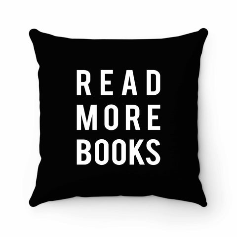 Read More Books Library Geek Pillow Case Cover
