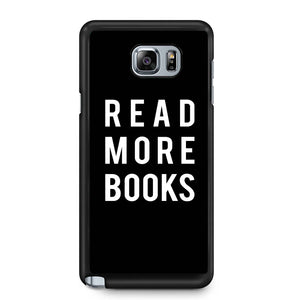 Read More Books Library Geek Samsung Galaxy Note 4 / Note 5 Case