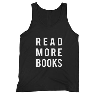 Read More Books Library Geek Man's Tank Top