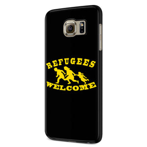 Refugees Welcome Samsung Galaxy S6 S6 Edge Plus/ S7 S7 Edge / S8 S8 Plus / S9 S9 plus 3D Case