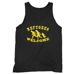 Refugees Welcome Man's Tank Top