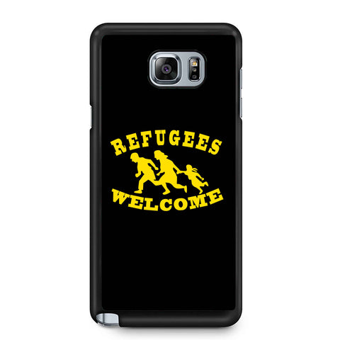 Refugees Welcome Samsung Galaxy Note 4 / Note 5 Case