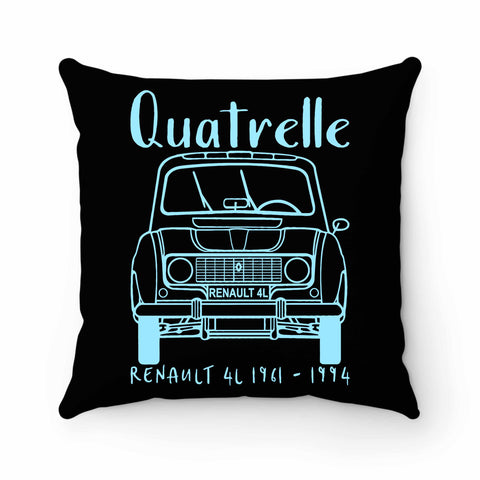 Renault 4 Quatrelle Pillow Case Cover
