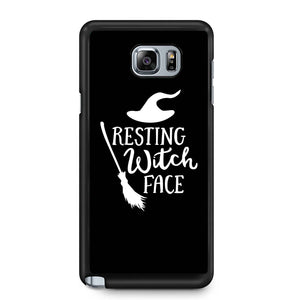 Resting Witch Face Halloween Party Costume Funny Halloween Samsung Galaxy Note 4 / Note 5 Case