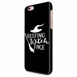 Resting Witch Face Halloween Party Costume Funny Halloween iPhone 6/6S/6S Plus | 7/7S/7S Plus | 8/8S/8S Plus| X/XS/XR/XS Max 3D Case
