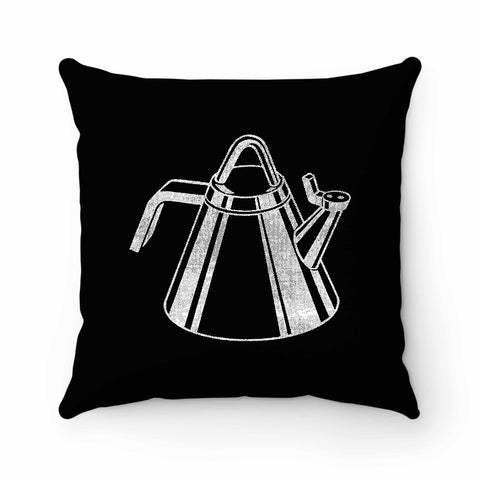 Retro Kettle Pillow Case Cover