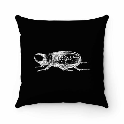 Rhinoceros Beetle Pillow Case Cover