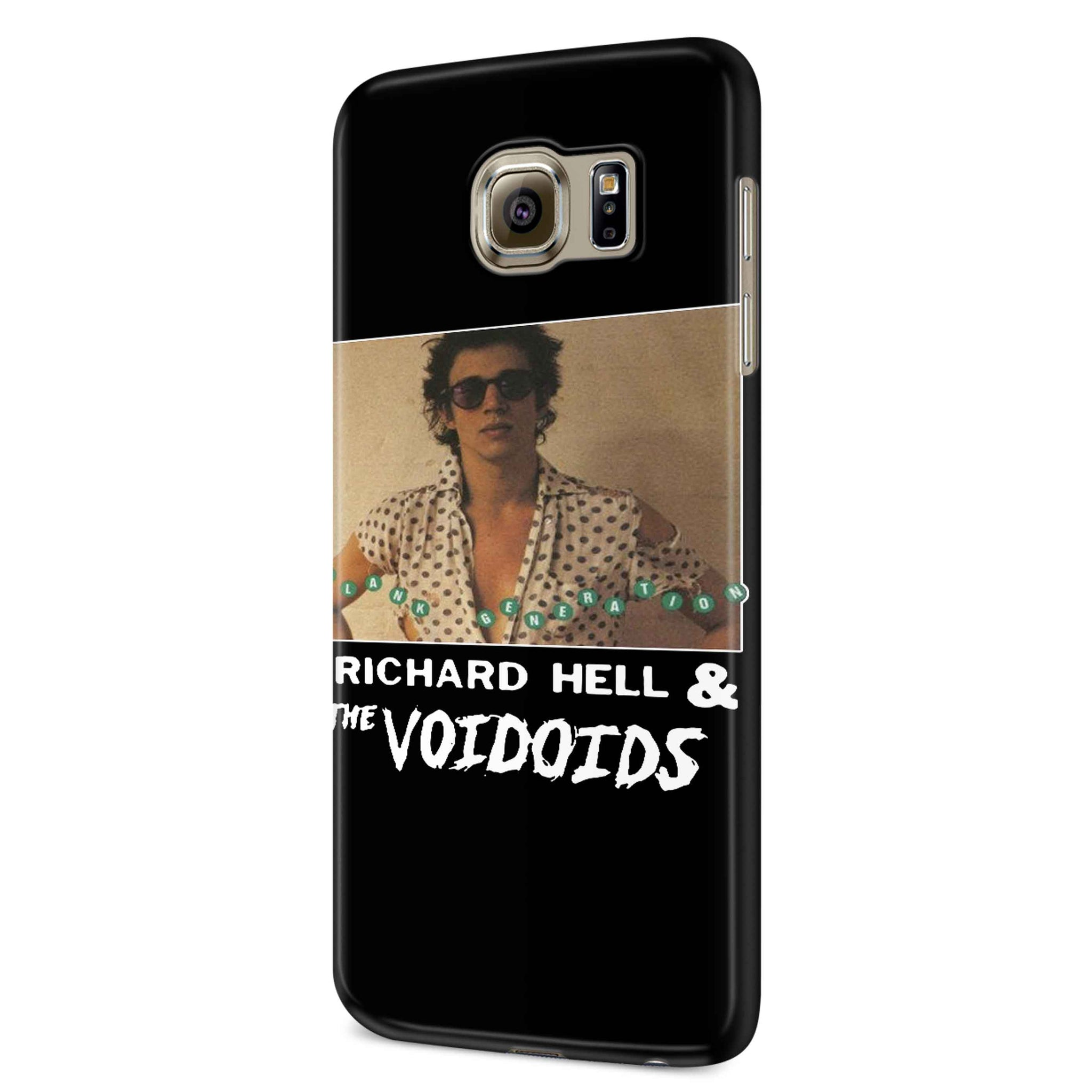 Richard Hell And The Voidoids Samsung Galaxy S6 S6 Edge Plus/ S7 S7 Edge / S8 S8 Plus / S9 S9 plus 3D Case