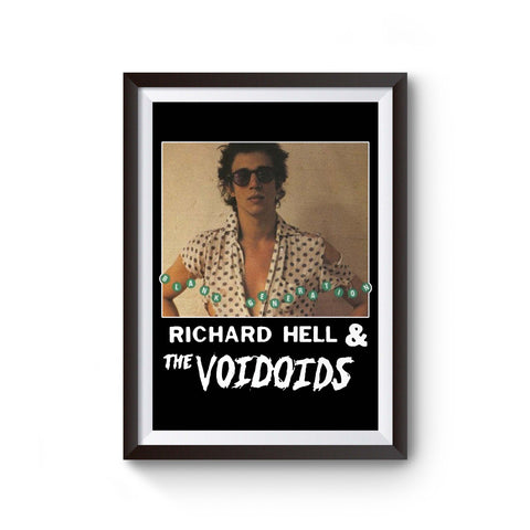 Richard Hell And The Voidoids Poster