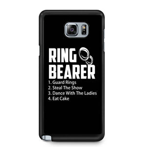 Ring Bearer Rules Ring Bearer Samsung Galaxy Note 4 / Note 5 Case