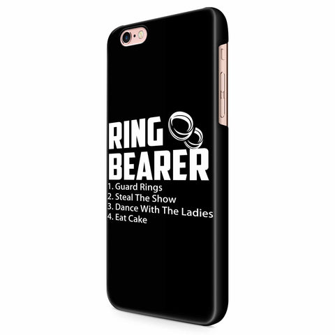 Ring Bearer Rules Ring Bearer iPhone 6/6S/6S Plus | 7/7S/7S Plus | 8/8S/8S Plus| X/XS/XR/XS Max 3D Case