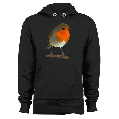 Robin Low Poly Unisex Hoodie
