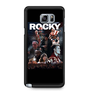 Rocky Balboa Sylvester Stallone Rocky Boxing Rambo Samsung Galaxy Note 4 / Note 5 Case