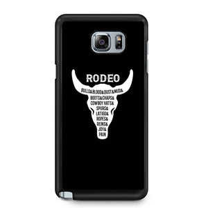 Rodeo Bull Skull Country Samsung Galaxy Note 4 / Note 5 Case