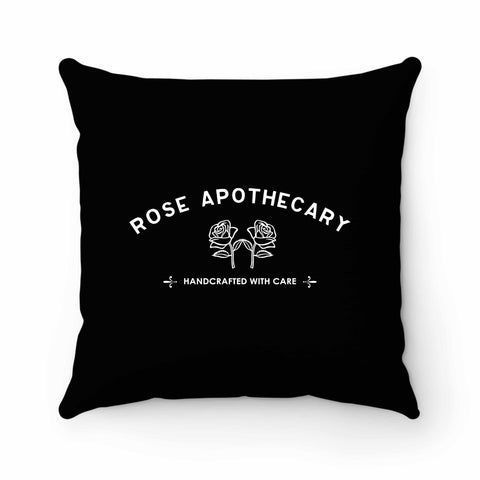 Rose Apothecary Pillow Case Cover