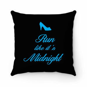 Run Like It's Midnight Pillow Case Cover