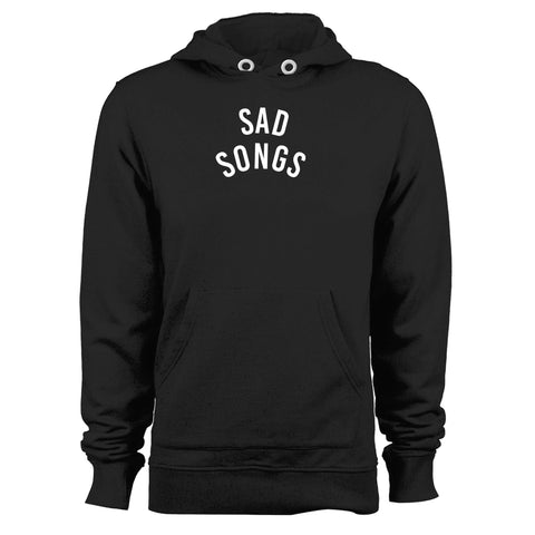 Sad Songs Fashion Hipster Design Tumblr Funny Unisex Hoodie