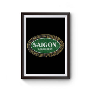 Saigon Beer Poster