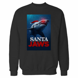 Santa Jaws Christmas 2 Sweatshirt