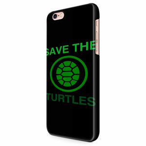Save The Turtles iPhone 6/6S/6S Plus | 7/7S/7S Plus | 8/8S/8S Plus| X/XS/XR/XS Max 3D Case