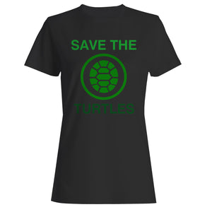 Save The Turtles Woman's T-Shirt