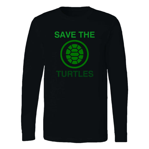 Save The Turtles Long Sleeve T-Shirt