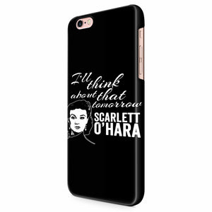 Scarlett O hara Gone With The Wind iPhone 6/6S/6S Plus | 7/7S/7S Plus | 8/8S/8S Plus| X/XS/XR/XS Max 3D Case