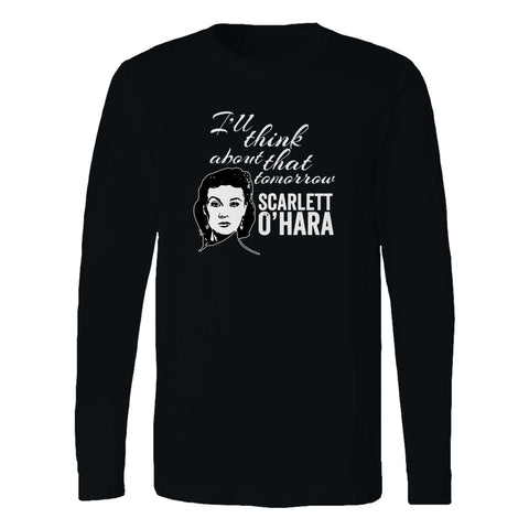 Scarlett O hara Gone With The Wind Long Sleeve T-Shirt
