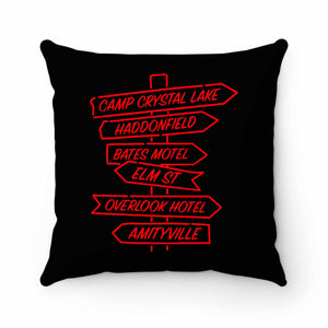 Scary Horror Pillow Case Cover