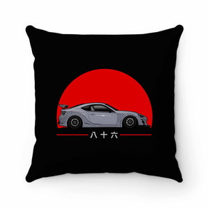 Scion Fr-S Toyota 86 Tuner Jdm Pillow Case Cover
