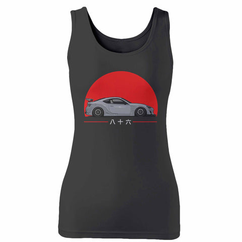 Scion Fr-S Toyota 86 Tuner Jdm Woman's Tank Top