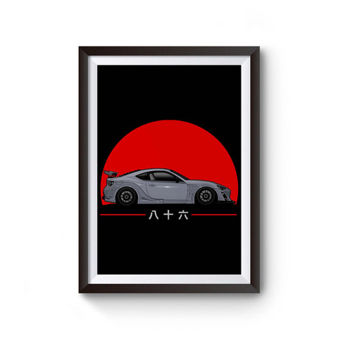 Scion Fr-S Toyota 86 Tuner Jdm Poster