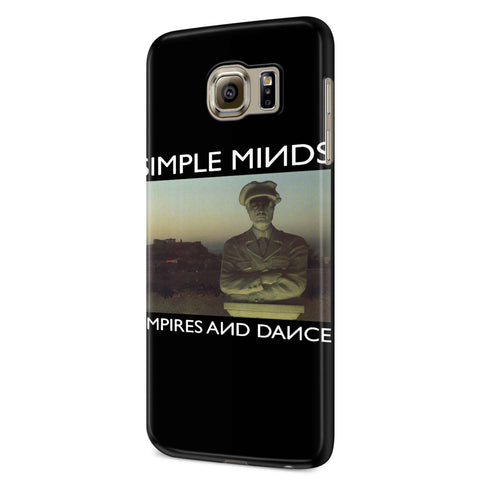 Simple Minds Empires And Dance Samsung Galaxy S6 S6 Edge Plus/ S7 S7 Edge / S8 S8 Plus / S9 S9 plus 3D Case