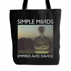Simple Minds Empires And Dance Tote Bag