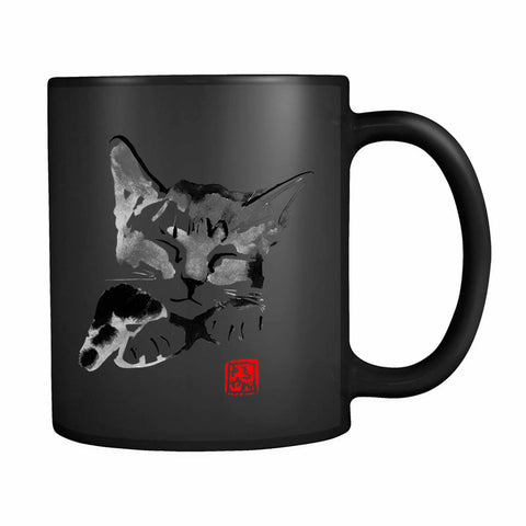 Sleeping Cat 1 11oz Mug