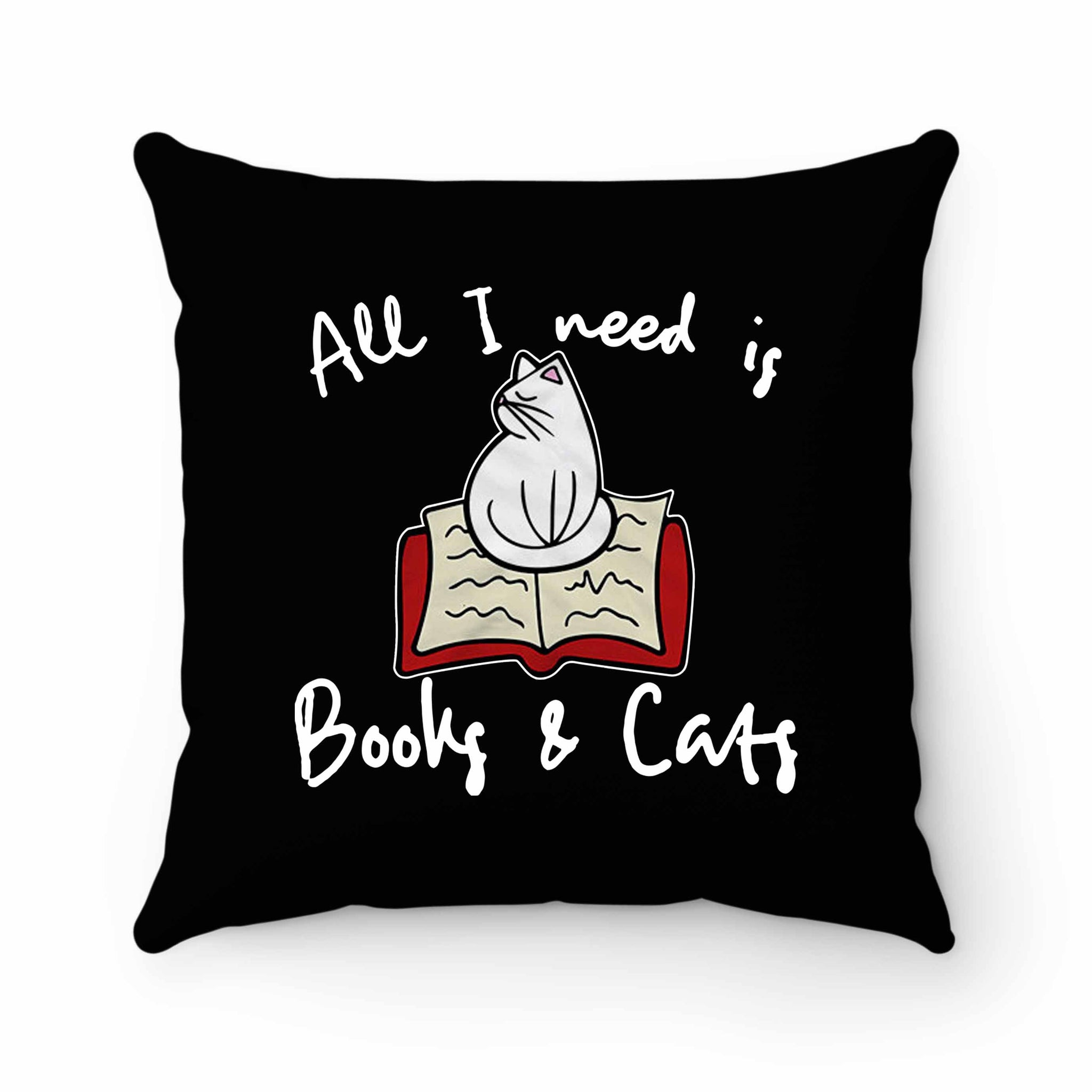 Sleeping Cat 2 Pillow Case Cover