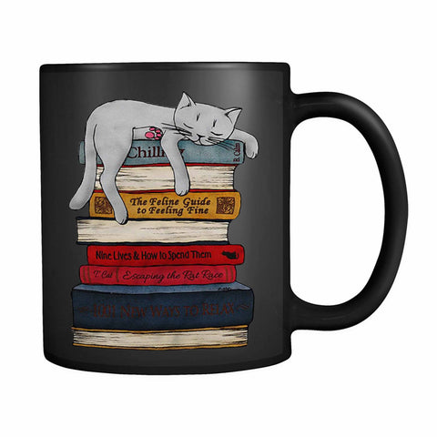 Sleeping Cat 3 11oz Mug