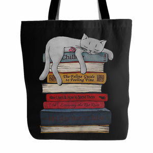 Sleeping Cat 3 Tote Bag