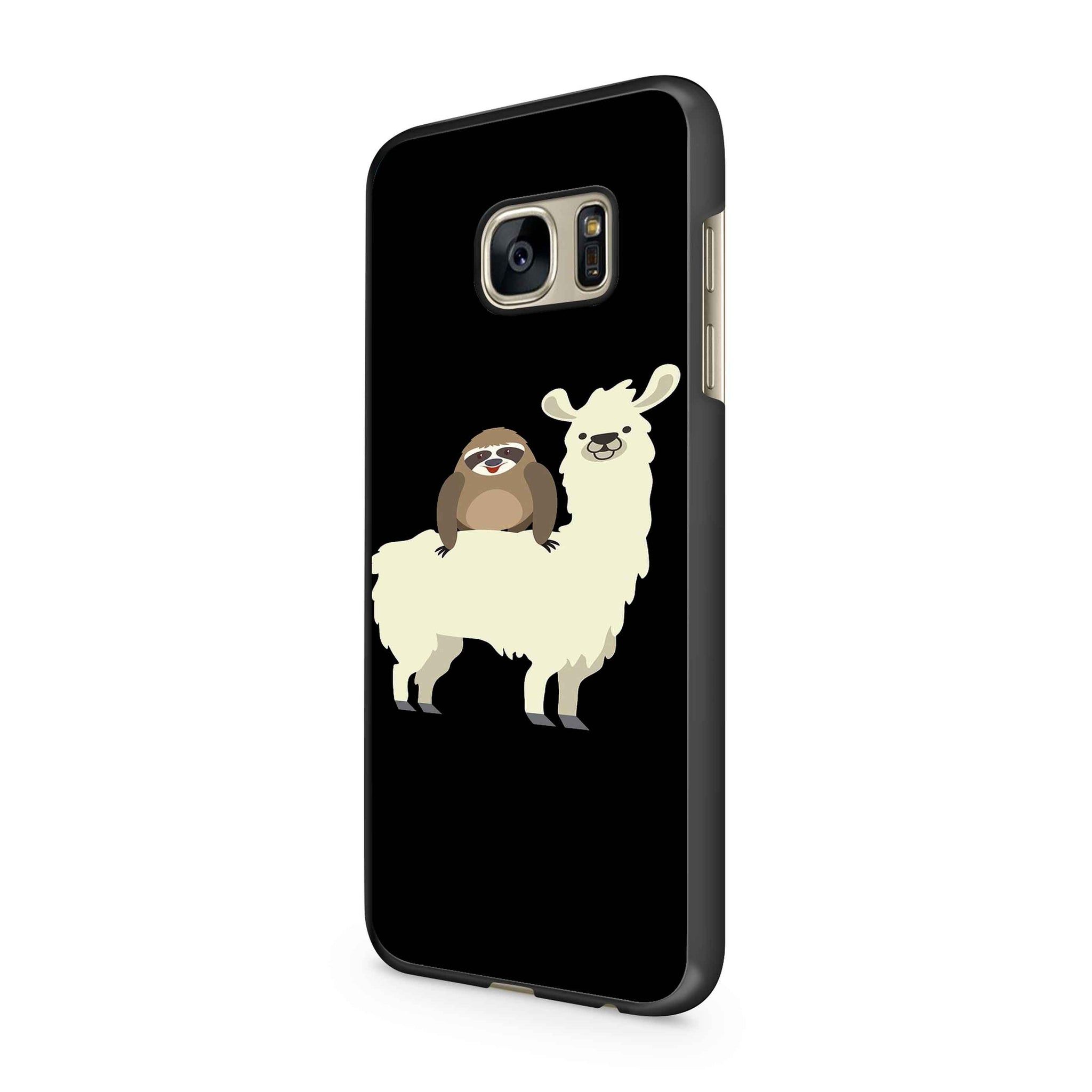 Sloth Riding Llama Samsung Galaxy S7 / S7 Edge Case