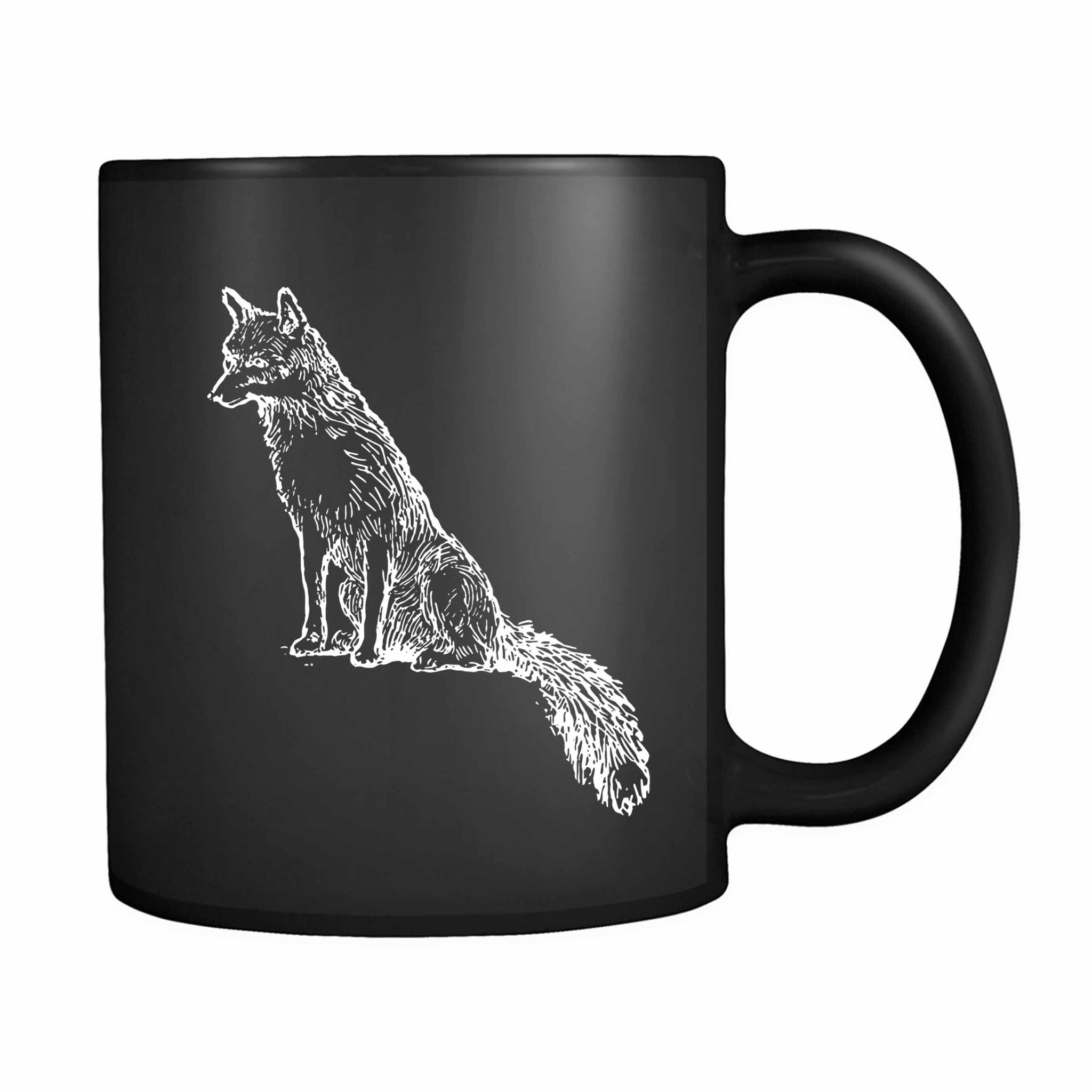 Sly Sitting Fox 11oz Mug