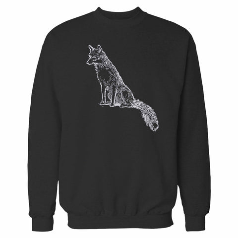 Sly Sitting Fox Sweatshirt