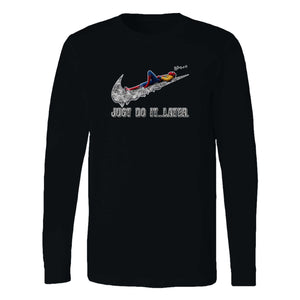 Spiderman Rilex Just Do It Later Long Sleeve T-Shirt